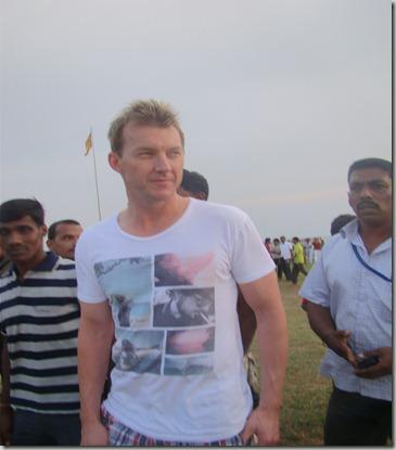 Brett Lee In Colombo