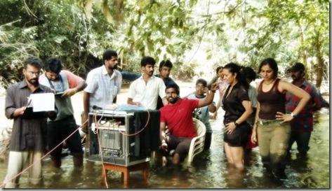 Ayirathil Oruvan Shooting Spot Selvaraghavan