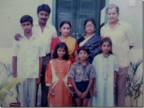 selvaraghavan as kid with family