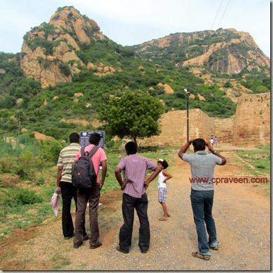 sankari fort hill