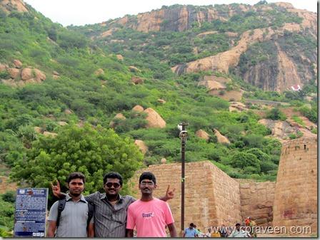 Sankagiri Hill Fort