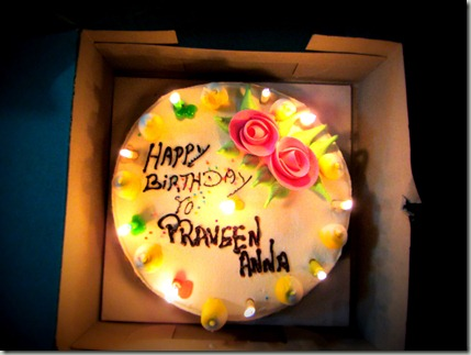 birthday cake praveen