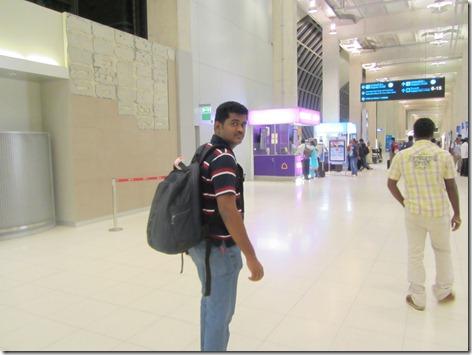 praveen in suvarnabumi airport