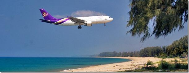 Phuket Airport Landing