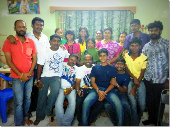 Goli Soda Movie Team at our home