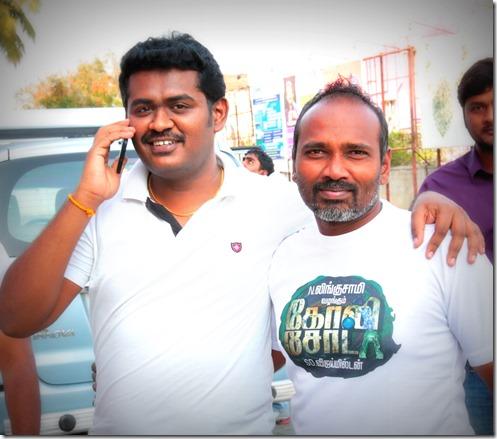 Director Vijay Milton & Praveen Kumar C